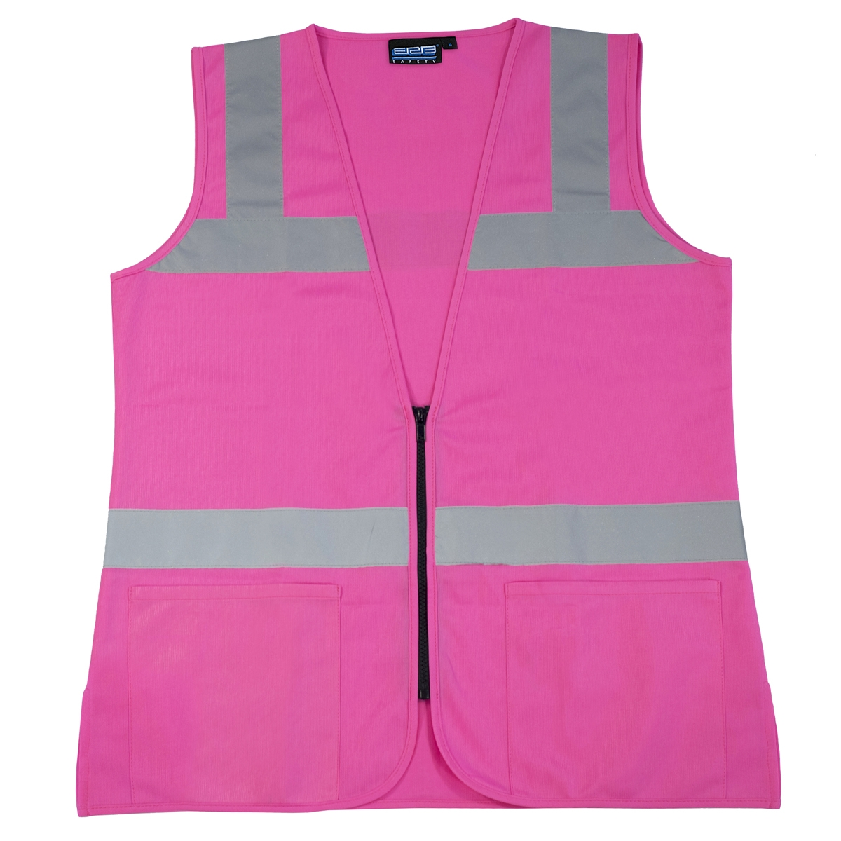 Womens Bright Pink Fitted Safety Vest Small 3xl Charm