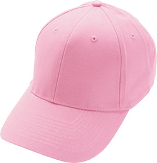 pink baseball cap no logo charm and hammer