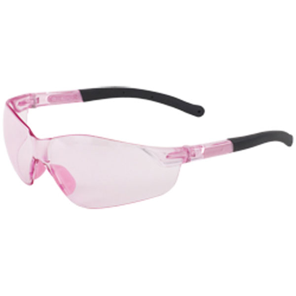 Girl Power At Work Womens Pink Tinted Safety Glasses