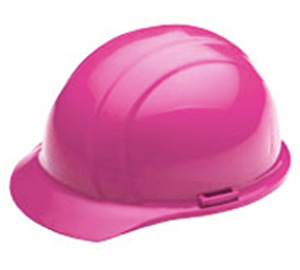 Made In Usa Hi Vis Vibrant Hot Pink Hard Hat Charm And Hammer